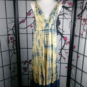 Gypsy 05 Tie-Dye Maxi Dress 100% Organic Cotton